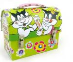 China Beatiful lunch tin box wholesale