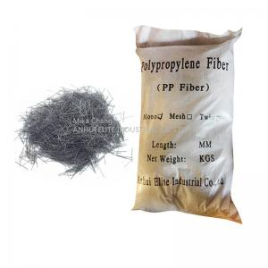 China Monofilament Type Synthetic Fiber Reinforcement PP Fiber For Substrate Slabs on sale