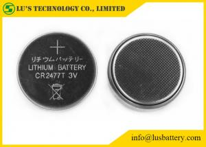 China Non Rechargeable Lithium Button Cell 1000mah CR2477 3v Lithium Battery on sale