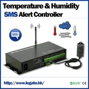 China Temperature & Humidity SMS Alert Controller on sale