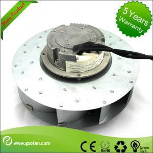 China similar EBM EC Motor Fan Blower , Backward Curved Centrifugal Duct Fan on sale