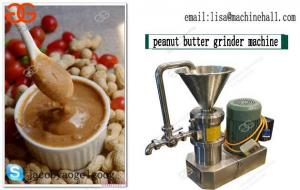 China High Efficiency Peanut Paste Grinding Machine|Nut Butter Grinder Machine For Commercial Use on sale