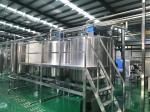 CE Hygienic Grade 60T/D Beverage Blending Packaging Line
