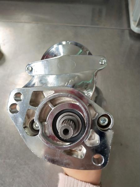 2 0kw/1 8kw Chrome Motorcycle Starter Motor For Harley