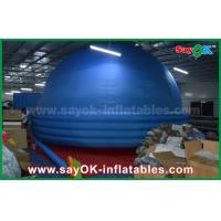 8m Oxford Cloth Mobile Planetarium , Projection Schools Inflatable Dome Tent