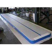 Customized Inflatable Air Track Gym Mat , Inflatable Air Tumble Track With Repair Kit