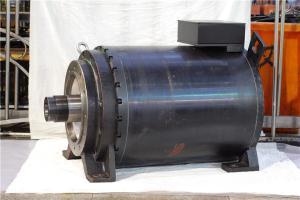 6000N-m AC Direct Drive Servo Motor , Low Speed High Torque