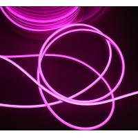 China 5mm Pink Super Flexible LED Neon Rope Light Outdoor Commercial Sign/Home Decor DC12V on sale