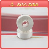 75D/2 white Prewound Bobbin Thread plastic core eco-friendly