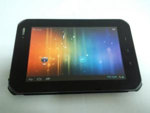 China 7inch Android 4.0 Rugged Tablet PCS Fingerprint NFC Reader 800 MHz on sale