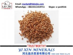 China supply golden / sliver  vermiculite powder / flake/ board  with best price on sale