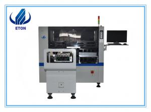 China Led Light Chip Mounter Machine Electronics Production Pcb Assembly Line Ht-E6T-1200 8 Heads on sale