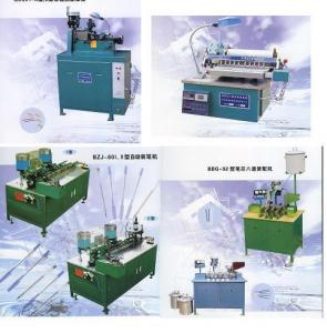 China Ballpoint pen machine, pen refill extruder, pen assembly machine on sale