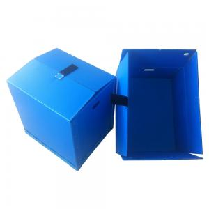China collapsible pp corrugated plastic box Antistatic polypropylene pp corrugated boxes plastic turnover carton on sale