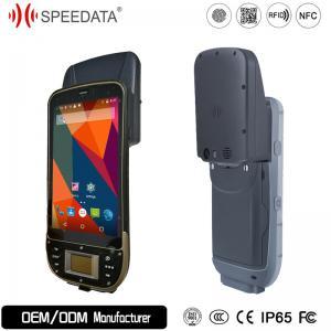 China Quad Core Bluetooth Handheld RFID Reader PDA 13.56MHz HF RFID Reader on sale