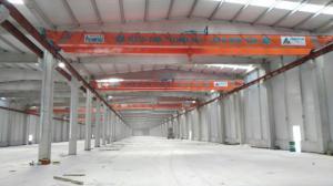 China OEM doble viga Overhead puente grúas con freno hidráulico on sale