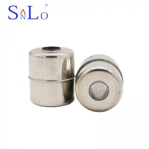 China 316L Stainless Steel Magnetic Float Ball For Level Switch 45*50*15.5mm on sale