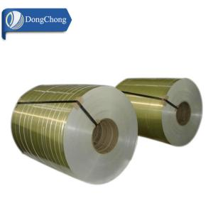 China Gold Slitting 1060 Aluminium Coil Strip 0.2-6mm Thick For Automobile Parts on sale