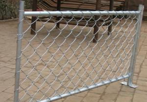 China simple install chain link fence on sale