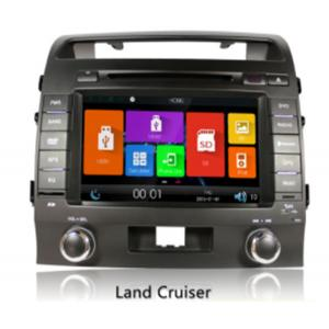 China Toyota land cruiser 200 Automobile GPS Navigation Systems , 8 inch car dvd player on sale
