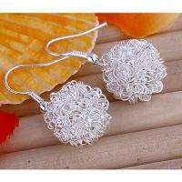 China Bobbles 925 Silver Fish Hook Earrings 1N-E0076 on sale