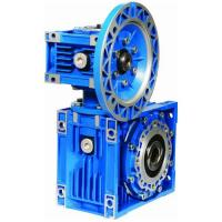 China Aluminium worm reducer models:RV020-RV090,cast iron worm gearboxes:RV110-150,with ratio range,1:5-1:100 for single unit on sale