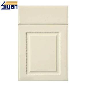 China Custom Size White Wood MDF Kitchen Cabinet Doors Styles Diy Design on sale
