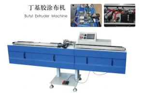 China High Performance Insulating Glass Production Line Butyl Extruder Machine Heavy Duty on sale