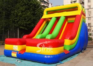 China Kids Inflatable Slide Commercial Grade Outdoor Inflatable Bouncers on sale
