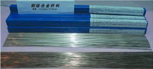 China Special copper-hafnium alloy brazing filler metal solder low weld porosity saving your flux pen JH-003TH-A-2 on sale