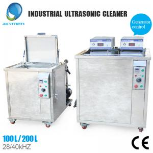 China Stainless Steel Industrial Ultrasonic Cleaning Equipment With 500 Liter Capacity on sale