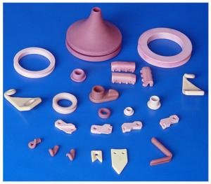 China White / Red Industrial 95% / 99% / 99.7% Al2O3 / Alumina Textile Ceramic Component / Parts on sale