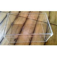 China factory custom clear acrylic shoe boxes/perspex shoe box/display shoe box on sale
