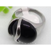 Rings for Black Semi Precious Stone 1140467
