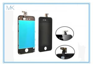 China Iphone4 Cell Phone Screen Replacement , LCD Touch Screen Digitizer Glass + back cover + homebutton on sale