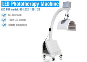 China PDT LED Red Light Therapy For Skin / Wrinkles , Red Light Facial Therapy Devices on sale