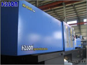 China ABS 4 Cavities Plastic Injection Molding Machine 268 Tons With Vickers Pump on sale