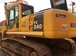 Used Komatsu PC240-8 Crawler Excavator SAA6D102E-2 engine 23T weight  with Original Paint