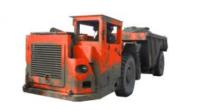 China RT - 20 Heavy Duty Dump Truck With DANA Axles For Roadway / Railway Tunneling on sale