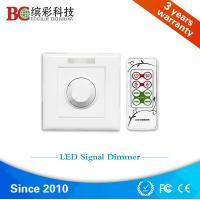 AC 230V rotary knob switch ir remote control pwm5v signal led dimmer switch