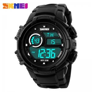 China Durable Multifunction Sport Watch LCD Backlight Display 5ATM Japan Battery on sale