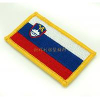China 3D Clothing Embroidered Patches , Embroidered Hat Patches Small Quantities on sale
