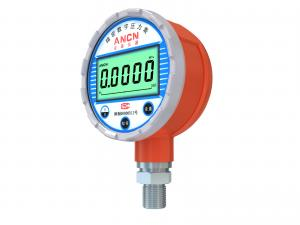 China Built-in 3.6V Battery Powered High Accuracy Digital Pressure Gauge For Industrial Measurement on sale