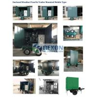 Fully Enclosed Vacuum Transformer Oil Purification Equipment Model ZYD-W-100(6000LPH)
