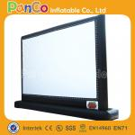 Pantalla inflable durable