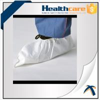 Anti Static Disposable Shoe Cover Non Woven , Slip Resistant Shoe Protectors
