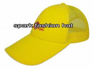 Quality サンドイッチ ピークが付いている卸売2015の方法トラック運転手の網の帽子 for sale
