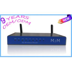 China Wireless 3G HSPA+ Router with an internal WCDMA supported 3G modem, simply insert a SIM card and a Wi-Fi on sale