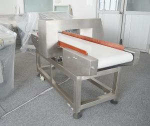 China Full Color Touch Display Conveyor Belt Metal Detector For Food Industry 40m/min Speed on sale