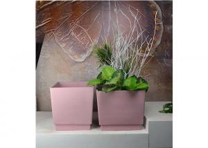 China Decorative Modern Vertical Garden Planters Customized With UV Inhibitors on sale